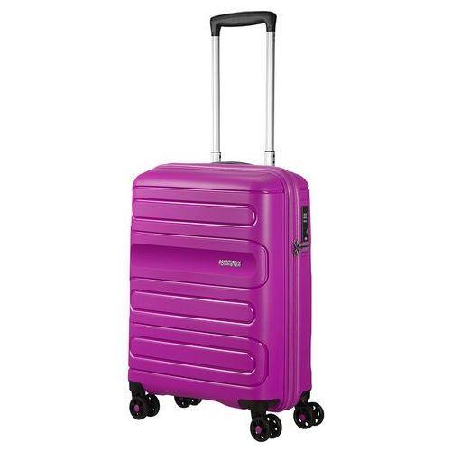 American tourister sunside mała walizka kabinowa 20/55 cm / fioletowa - ultraviolet (5414847861734)
