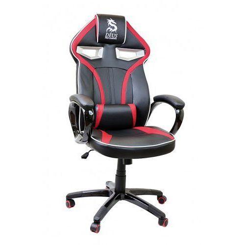 Fotel obrotowy gamingowy DRAGON Black/Red/Black, Dragon Black/Red/Black