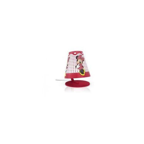 Philips  lampa dziecięca stołowa led minnie mouse 71764/31/16 - wysyłka 48h (8718291532989)