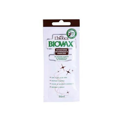 L'biotica biovax falling hair maseczka wzmacniająca przeciw wypadaniu włosów (paraben & sls free) 20 ml (5907467544427)