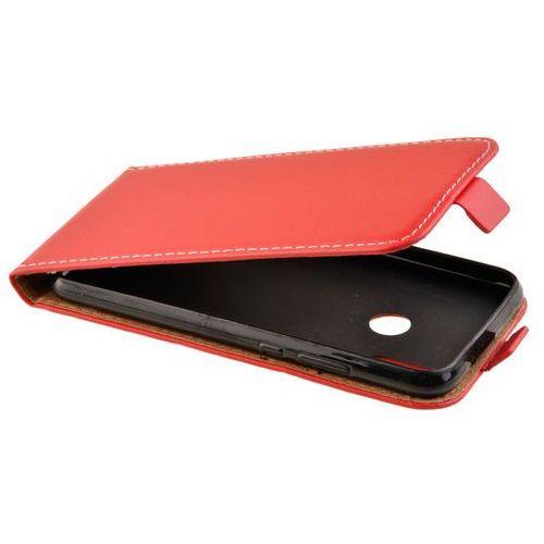 Etui kabura flexi rubber do huawei p20 lite czerwony - czerwony marki Zalew mobile