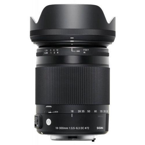 Obiektyw SIGMA C 18-300/3.5-6.3 DC MACRO OS HSM Nikon + DARMOWY TRANSPORT! z kategorii Obiektywy fotograficzne