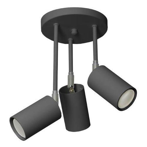 Lampex Plafon rolos 3b czarny