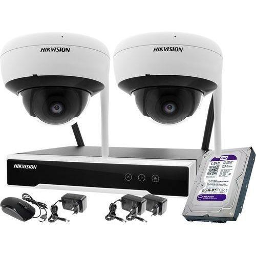 Zm11992 2 kamerowy zestaw monitoringu wifi 4mpx 1tb marki Hikvision