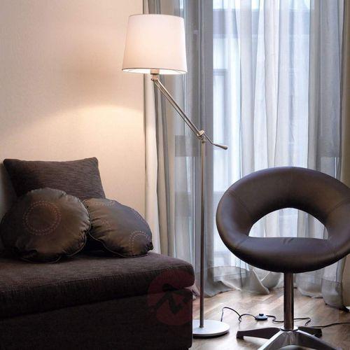 Lampa stojąca milan z bawełnianym kloszem marki Leds-c4
