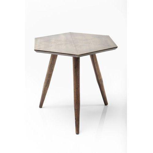 :: stolik tangram gold 50x50cm marki Kare design