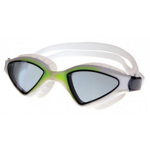 Okulary pływackie SPOKEY Abramis Biało-zielony (5901180392198)
