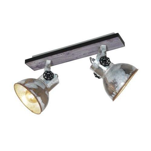 Eglo 49649 - Oświetlenie punktowe BARNSTAPLE 2xE27/40W/230V