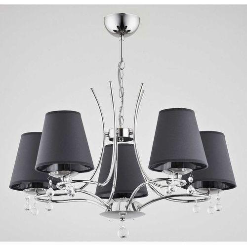 Alfa Lampa wisząca dagna 23335 5x40w e14 szara/chrom (5900458233355)