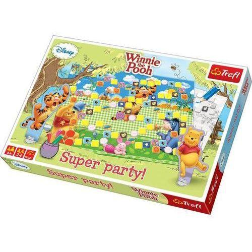 Gra planszowa super party kubuś puchatek marki Trefl