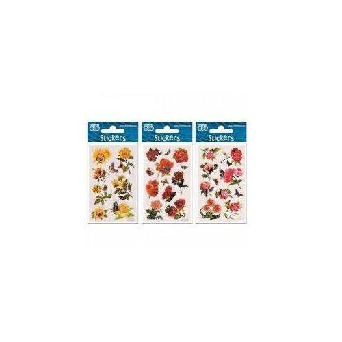 Naklejki sticker boo silver kwiaty (5902643620520)
