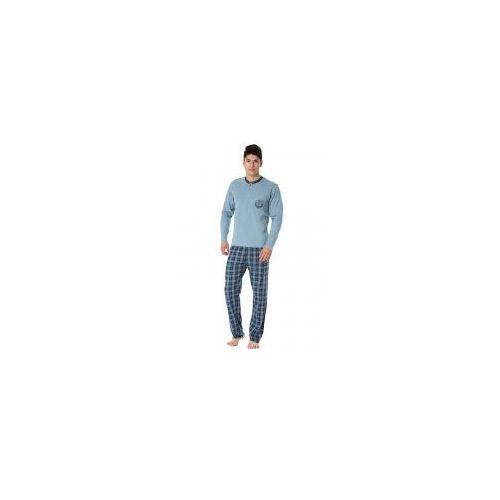 Bawełniana piżama męska sam-py-097 marki Rossli