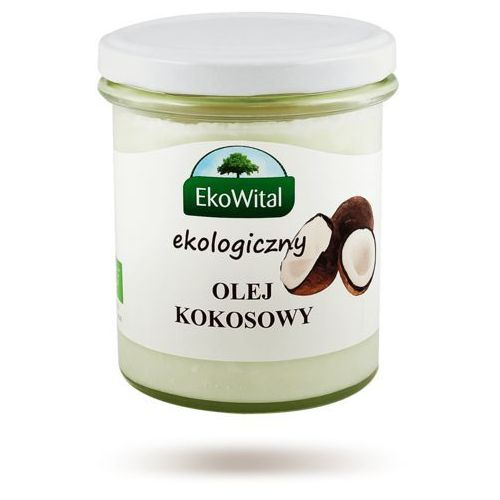 Olej kokosowy BIO 240 g EkoWital - produkt z kategorii- Oleje, oliwy i octy