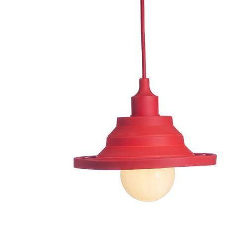 lampa wisząca AMICI silikonowa czerwona, REDLUX R10619