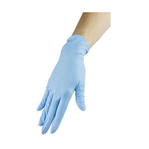 Rękawiczki nitrylowe - niebieskie, rozmiar S (5903274008862)