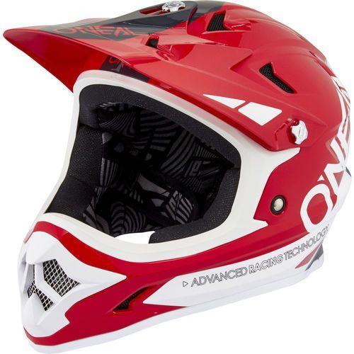 backflip rl2 kask rowerowy czerwony/biały m | 57-58cm 2018 kaski rowerowe marki Oneal