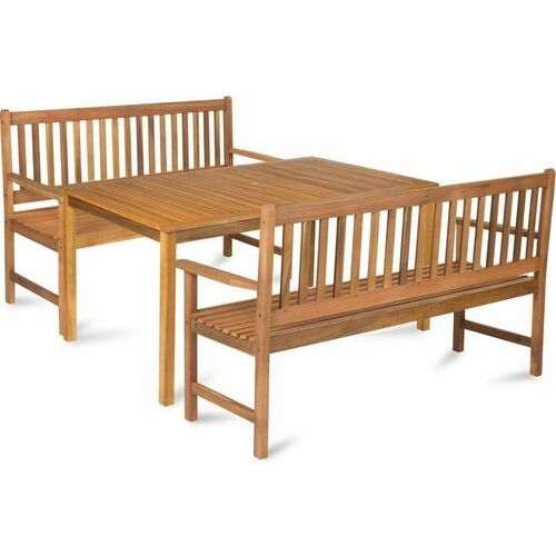 Fieldmann zestaw mebli ogrodowych stół + ławka