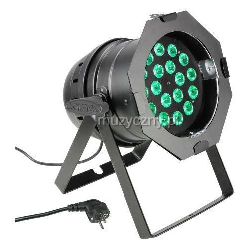 Cameo PAR 64 CAN - 18 x 8W QUAD Colour LED PAR Can RGBW - reflektor LED w czarnej obudowie