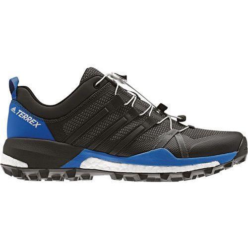 skychaser buty do biegania mężczyźni niebieski/czarny uk 11 | eu 46 2018 buty trailowe marki Adidas terrex