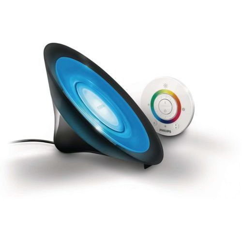 Philips  70998/30/ph - led lampa stołowa living colors 1xled/8w czarna (8718291439851)