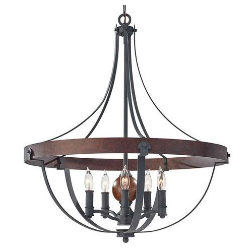 Lampa wisząca ALSTON FE/ALSTON5 - Elstead Lighting - Rabat w koszyku (5024005336808)