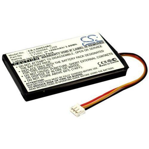 Logitech Harmony Touch / 533-000084 1050mAh 3.89Wh Li-Ion 3.7V (Cameron Sino), CS-LOH533RC