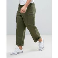 vincent chino loose fit cargo pocket - green marki Dr denim