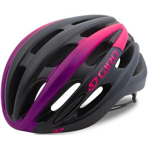 Giro saga mips kask rowerowy kobiety różowy/czarny s | 51-55cm 2018 kaski rowerowe (0768686739866)