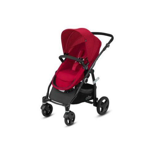 wózek 2w1 leotie flex crunchy red - kolor czerwony marki Cbx