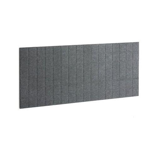 Panel dźwiękochłonny split, 1600x600 mm, ciemnoszary marki Aj produkty