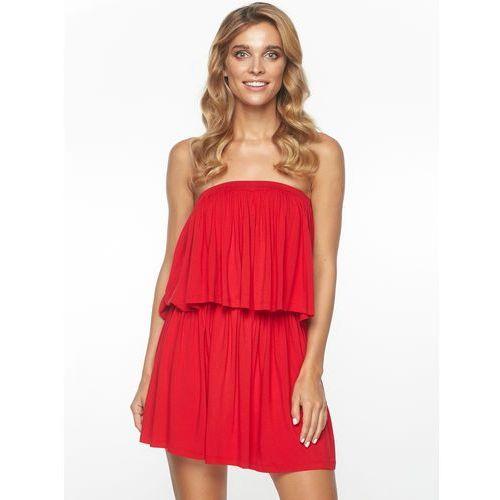 Sukienka Massima w kolorze czerwonym