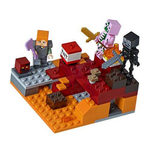 21139 WALKA W NETHERZE (The Nether Fight)- KLOCKI LEGO MINECRAFT