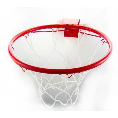 Interkobo Solidna metalowa obręcz do koszykówki z siatką