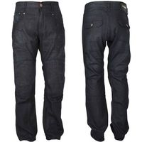 Męskie jeansowe spodnie motocyklowe W-TEC Roadsign, Czarny, 40/XL, kolor czarny