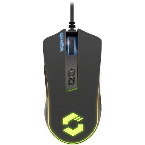 Speed-link speedlink orios rgb gaming - myszy - 7 - czarny (4027301229646)