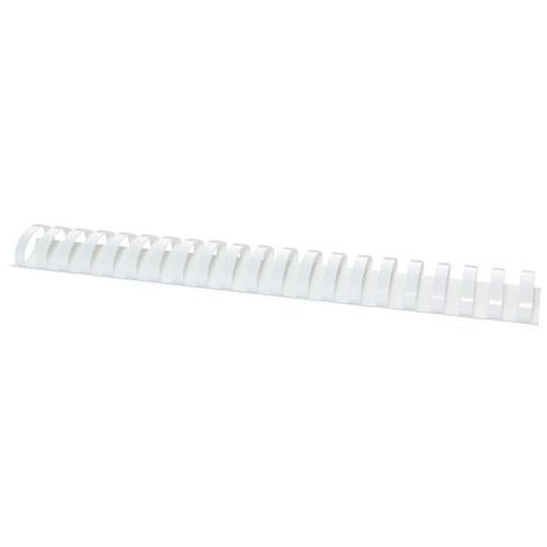 Grzbiety do bindowania OFFICE PRODUCTS, A4, 38mm (350 kartek), 50 szt., białe (5901503684689)