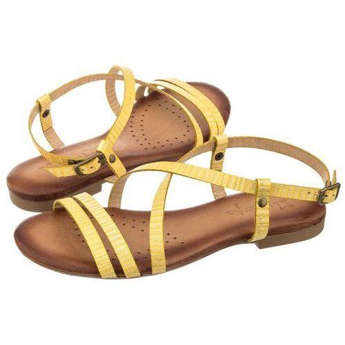 Sandały Maciejka Żółte Paseczki 03207-07/00-0 (MA236-b), kolor żółty