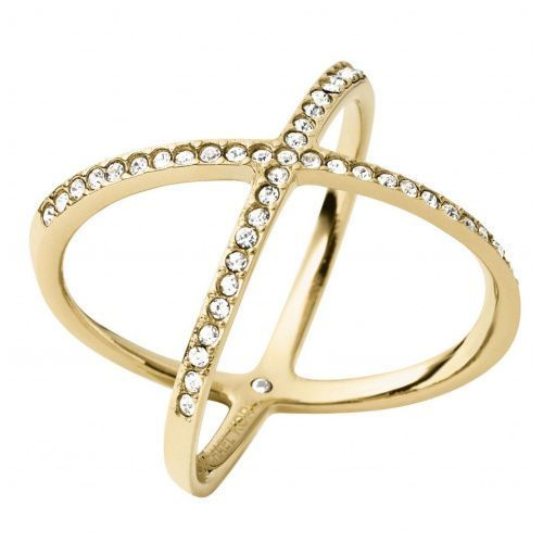 brilliance pierścionek goldcoloured marki Michael kors