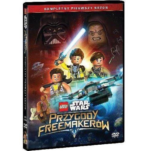 Lego Star Wars: Przygody Freemakerów (DVD) - Michael HegnerJens MøllerMartin Skov (7321917506090)