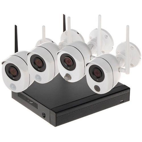 Apti Zestaw do monitoringu -kit-wifi-s-20c2 wi-fi, 4 kanały - 1080p (5902887050305)