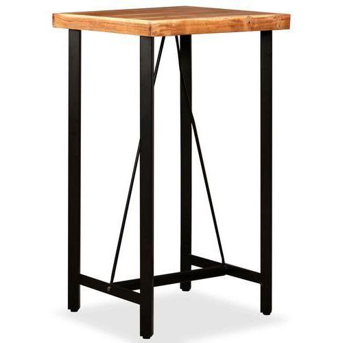 Vidaxl stolik barowy, drewno sheesham, 60x60x107 cm