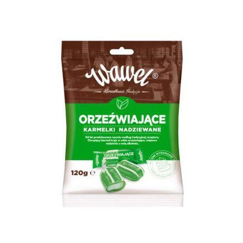 Cukierki nadziewane karmelki orzeźwiające marki Wawel
