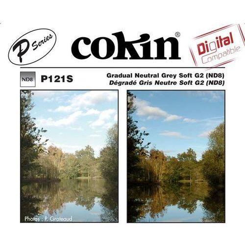 Cokin P121S połówkowy szary G2 Soft NDx8 systemu Cokin P