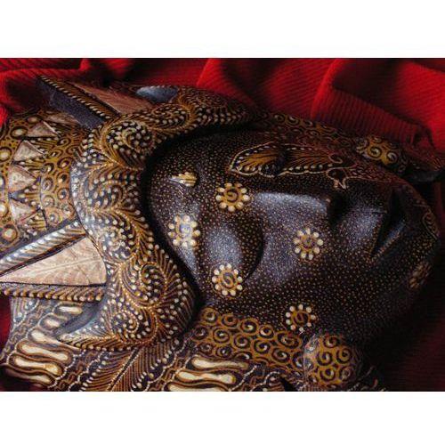 Wyspa bali Fantastyczny prezent rzeźba maska legendarnego bóstwa