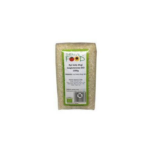 Ryż biały długoziarnisty bezglutenowy bio 1 kg  marki Denver food