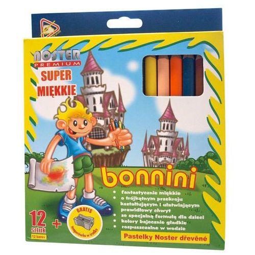 Kredki ołówkowe 12 kol. bonnini