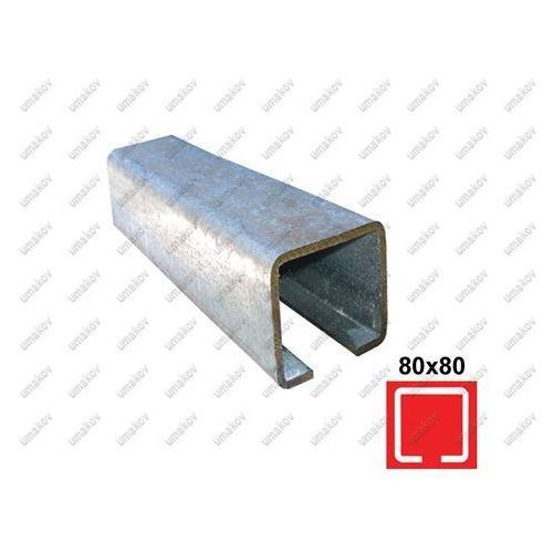 Umakov Profil do bramy przesuwnej zn, 78x78x4mm, l6m