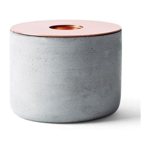 Świecznik betonowy Menu Chunk of Concrete M