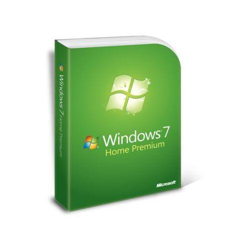 Microsoft Windows 7 Home Premium PL 64bit bez płyty z kategorii Systemy operacyjne
