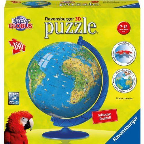 Puzzle 3D Globus 180 elementów - Ravensburger (4005556123384)